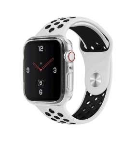 Uniq ochranná krytka Glase pro Apple Watch série 4 (44 mm), čirá