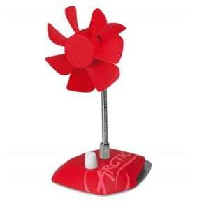 Arctic Breeze Color Edition RED - USB stolní ventilátor, červený