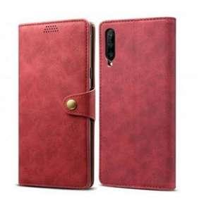 Lenuo Leather pro Huawei P Smart Pro/Y9s, červená