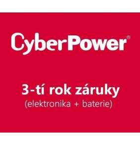 CyberPower 3-tí rok záruky pro UT1050EG, VALUE1000, VP1000, RMCARD305