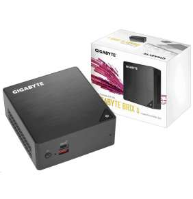 "Gigabyte Mini-PC Barebone BRIX GB-BRi3H-8130, Intel® Core™ Dual Core i3-8130U3.4GHz / 2.2GHz. Supports 2.5"" HDD/SSD"