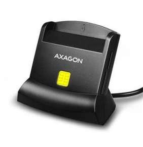 AXAGON CRE-SM2 USB Smart Card & SD/microSD/SIM card reader