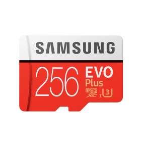 Samsung Micro SDXC karta 256GB EVO Plus + SD adaptér