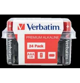 VERBATIM  AAA Alkalická Baterie 24 Pack / LR03