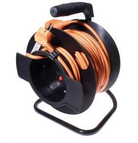 OEM Predlzovaci kabel 230V 25m bubon (1zás., 16A)
