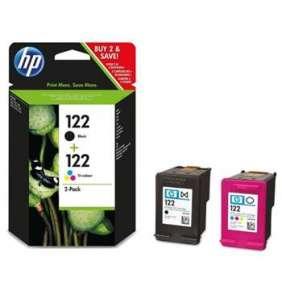 HP 122 2-pack Black/Tri-color Original Ink Cartridges pro HP DESKJET 1000, 1050A, 2000, 2050A, 2054A, 3000, 3050A, 3052A