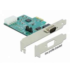 Delock PCI Express Card   1 x Serial RS-232 High Speed 921K with Voltage supply