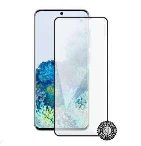 Screenshield ochrana displeje Tempered Glass pro SAMSUNG G988 Galaxy S20 Ultra, full cover, černá