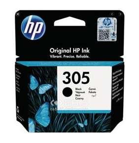 HP inkoustová kazeta 305 černá pro DeskJet 2300, 2710, 2720, DeskJet Plus 4100