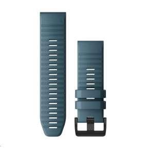 Garmin řemínek pro fenix6X - QuickFit 26, silikonový, žlutý, černá přezka
