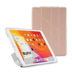 Pipetto puzdro Origami Metallic Case pre iPad 10.2 2019 - Rose Gold