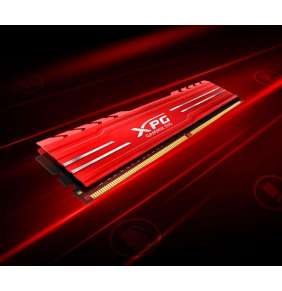 8GB DDR4-2666MHz ADATA XPG D10 CL16, 2x4GB red