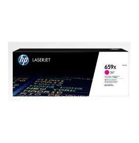 HP 659X High Yield Magenta Original LaserJet Toner Cartridge