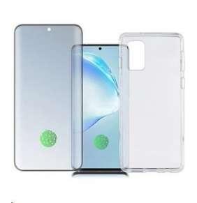 4smarts 360° Premium Protection set (tvrzené sklo UltraSonic a gelový zadní kryt) pro Samsung Galaxy S20+