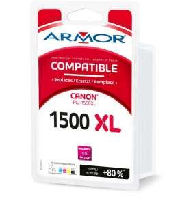 OWA Armor cartridge pro CANON, MAXIFY MB2050, 2350,2750, 17ml / 1440p, PGI1500XLM, červená/magenta