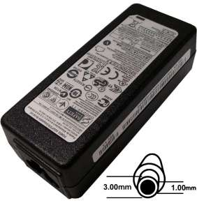 Napájecí adaptér 40W, 19V 3.0x1.0, originál Samsung