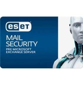 ESET Mail Security for Exchange 50 - 99 mbx - predĺženie o 1 rok