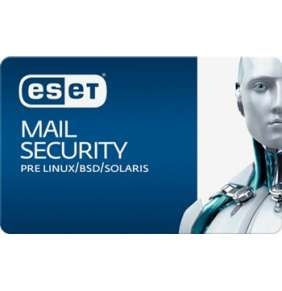 ESET Mail Security pre Linux/BSD 5 - 10 mbx + 1 ročný update