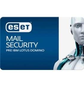 ESET Mail Security pre IBM Lotus Domino 25 - 49 mbx + 2 ročný update GOV