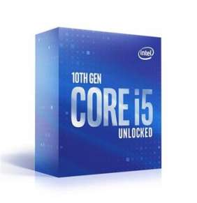 INTEL Core i5-10400 / Comet Lake / 10th / LGA1200 / max. 4,3GHz / 6C/12T / 12MB / 65W TDP / BOX