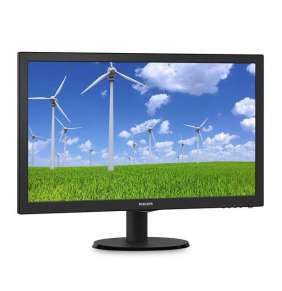 "Philips MT LED 23,6"" 243S5LDAB/00 -  1920x1080, 250cd, 1ms,  D-Sub, DVI-D, HDMI, repro"