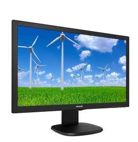 """Philips MT LED 23,6"""" 243S5LJMB/00 -  1920x1080, 250cd, 1ms,  D-Sub, DVI, HDMI, DP, USB, repro, pivot"""