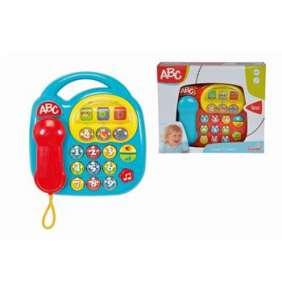 Baby telefon, na baterie, 20 x 20 cm