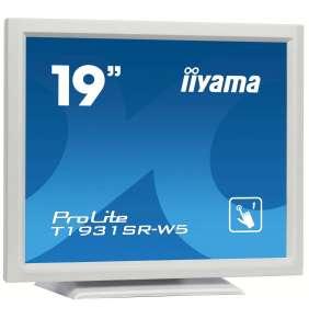 """19"""" iiyama T1931SR-W5 - TN,SXGA,5ms,250cd/m2, 1000:1,5:4,VGA,HDMI,DP,USB,repro,výška."""
