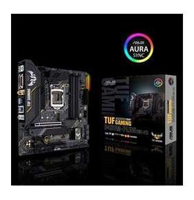 ASUS MB Sc LGA1200 TUF GAMING B460M-PLUS (WI-FI), Intel B460, 4xDDR4, VGA, mATX, WI-FI