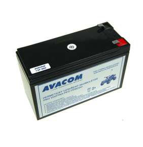 AVACOM Náhradní baterie (olověný akumulátor) 12V 9Ah F2 typu HR do vozítka Peg Pérego