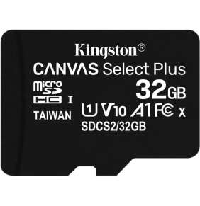 Kingston 32GB micSDHC Canvas Select Plus 100R A1 C10 - 1 ks