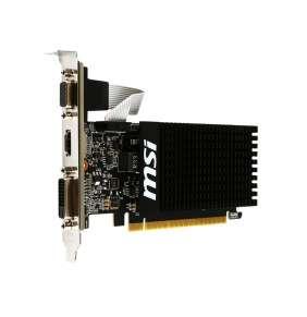 MSI VGA NVIDIA GeForce GT 710 1GD3H LP, GT710, GDDR3 1GB, DVI-I,HDMI,LP, pasiv