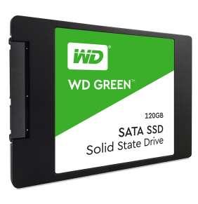 """WD 120GB Green™ SSD 2,5"""" SATA III, 545MB/430MB, 7mm, 3D Nand"""