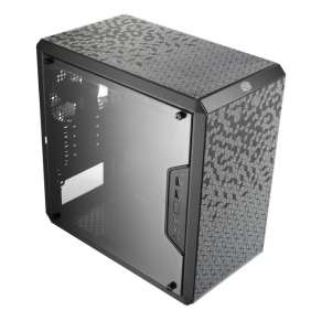 Cooler Master case MasterBox Q300L, micro-ATX, mini-ITX, Mini Tower, USB 3.0, černá, bez zdroje