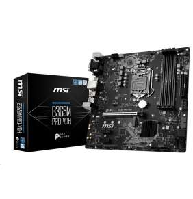 MSI B365M PRO-VDH / LGA1151 / B365 / 4x DDR4 DIMM / VGA / DVI-D / HDMI / USB Type-C / mATX