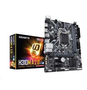 GIGABYTE MB Sc LGA1151 H310M A 2.0, Intel H310, 2xDDR4, VGA, mATX