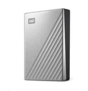 """WD My Passport ULTRA 4TB Ext. 2.5"""" USB3.0 Silver for MAC USB-C"""