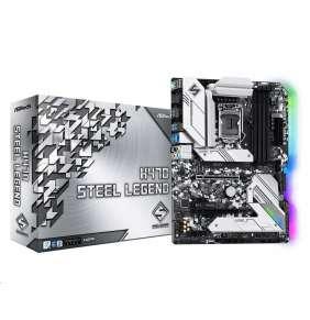 ASRock MB Sc LGA1200 H470 Steel Legend, Intel H470, 4xDDR4, VGA