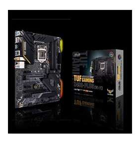 ASUS TUF GAMING Z490-PLUS(WI-FI) soc.1200 Z490 DDR4 ATX M.2 HDMI DP WF BT