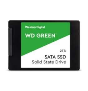 """WD 2TB Green SSD 2,5""""/SATAIII ,545MB/430MB,  7mm, 3D Nand"""