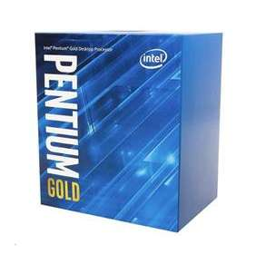 Intel® Pentium®, Gold G6400-4.00GHz,4MB,LGA1200, BOX, HD Graphics 630