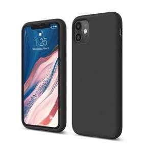 Elago kryt Silicone Case pre iPhone 11 - Black