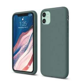Elago kryt Silicone Case pre iPhone 11 - Midnight Green