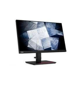 """Lenovo P24h-20 23.8"""" 2560x1440 QHD IPS 16:9 1000:1 300cd 4ms HDMI+DP+USB-C+USB+RJ45 3y BEZRAMOVY, VESA"""