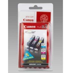 Canon multipack inkoustových náplní CLI-521-C+M+Y