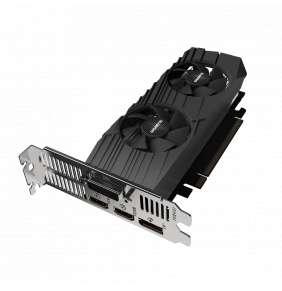 GIGABYTE GeForce GTX 1650 D6 OC Low Profile 4G / 4GB GDDR6 / PCI-E / DVI-D / 2x HDMI / DP