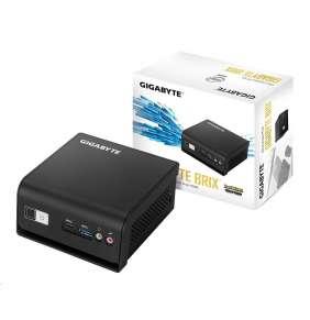 Gigabyte Mini-PC Barebone BRIX GB-BLCE-4000RC, Intel® Celeron® Processor N4000, 2.6GHz, 2 core (TDP 6W), 1 x SO-DIMM DDR4, Suppo