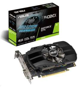 ASUS PH-GTX1650-O4G 4GB/128-bit GDDR5, DVI, HDMI, DP