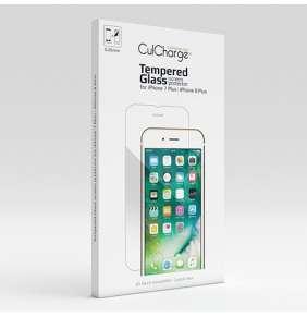 CulCharge ochranné sklo pre iPhone 7 Plus/8 Plus 9H 0.26mm