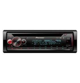 Pioneer DEH-S720DAB 4*50W MOSFET, CD RDS přijímač s tunerem DAB+, technologií Bluetooth s možností připojení 2 telefonů
